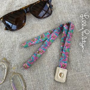 Lilly Pulitzer Sunglass Strap Croakies Holder